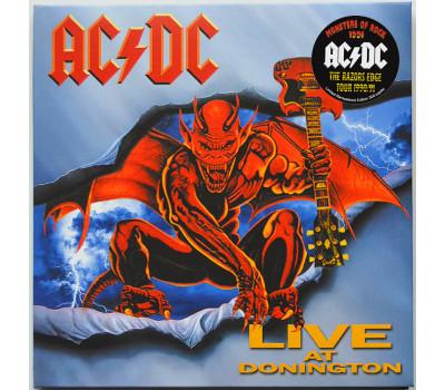 AC/DC Live at Donington 1991 REMASTERED EDITION The Razors Edge Tour 2CD set