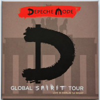 DEPECHE MODE Live in Berlin 17/01/2018 Global Spirit Tour 2CD set