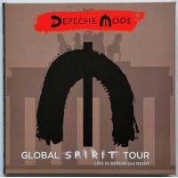 DEPECHE MODE Live in Berlin 19/01/2018 Global Spirit Tour 2CD set