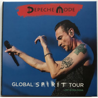 DEPECHE MODE Live in Bologna Italy 2017 Global Spirit Tour 2CD set