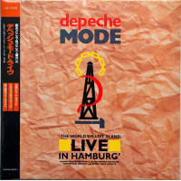 DEPECHE MODE The World We Live In And Live in Hamburg CD+DVD set