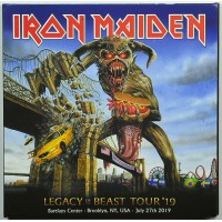 Iron Maiden LIVE IN BROOKLYN 2019 Legacy Of The Beast Tour 2CD set
