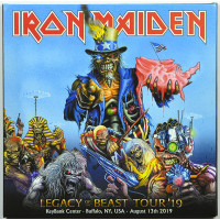 Iron Maiden LIVE IN BUFFALO 2019 Legacy Of The Beast Tour 2CD set