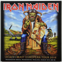 Iron Maiden Live in Manchester 2018 Legacy Of The Beast Tour 2CD set