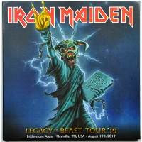 Iron Maiden LIVE IN NASHVILLE 2019 Legacy Of The Beast Tour 2CD set