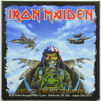 Iron Maiden Live in Noblesville 2019 Legacy Of The Beast Tour 2CD set