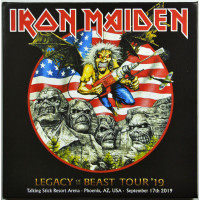 Iron Maiden LIVE IN PHOENIX  2019 Legacy Of The Beast Tour 2CD set