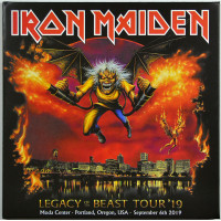 Iron Maiden LIVE IN PORTLAND 2019 Legacy Of The Beast Tour 2CD set