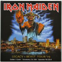Iron Maiden Live in Sacramento 2019 Legacy Of The Beast Tour 2CD set