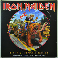 Iron Maiden LIVE IN TORONTO 2019 Legacy Of The Beast Tour 2CD set