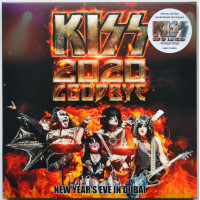 KISS Goodbye 2020 Soundtrack Live in Dubai End Of The Road Tour 2CD set