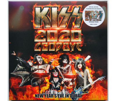 KISS Goodbye 2020 LIVE Atlantis DUBAI End Of The Road World Tour 2CD set digipak
