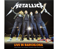 METALLICA Live in Barcelona 2019 Worldwired Tour 2CD set