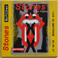 THE ROLLING STONES Live in Amsterdam 2017 No Filter Tour 2CD set