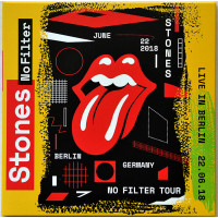 THE ROLLING STONES Live in Berlin 2018 No Filter Tour 2CD set