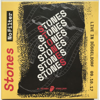 THE ROLLING STONES Live in Dusseldorf 2017 No Filter Tour 2CD set
