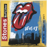 THE ROLLING STONES Live in London 25.05.2018 No Filter Tour 2CD set