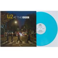 "U2 At the BBC LP BLUE VINYL 12"" Record"