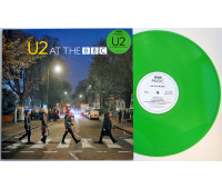 "U2 At the BBC LP GREEN VINYL 12"" Record"
