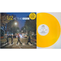 "U2 At the BBC LP YELLOW VINYL 12"" Record"
