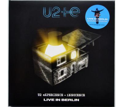 U2 LIVE IN BERLIN 2018 SOUNDTRACK eXPERIENCE + iNNOCENCE TOUR 2CD set in digipak
